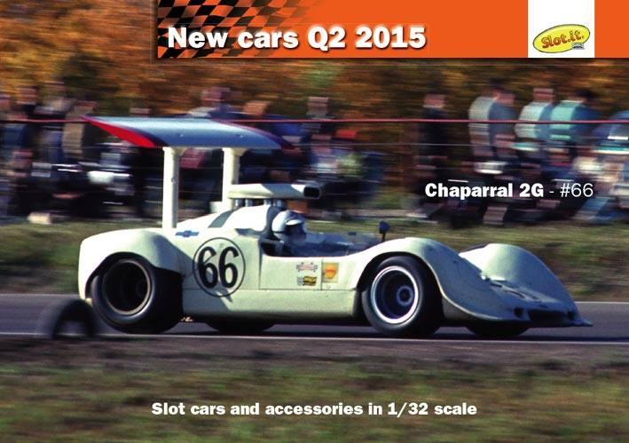 Slot it: Une Chaparral 2G en 2015
