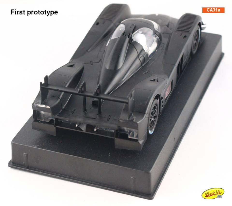 Slot it: Photos du prototype de la Lola Aston Martin DBR1-2