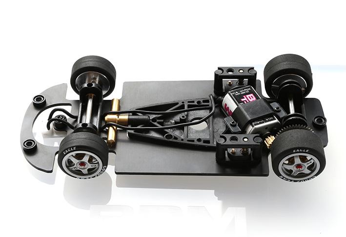 Chassis complet de la McLaren F1 BRM