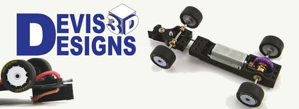 Devis3Designs Des pièces en impression 3D pour le slot