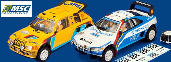 """MSC Competition: Deux nouvelles voitures dans la collection """"Grand Raid"""""""