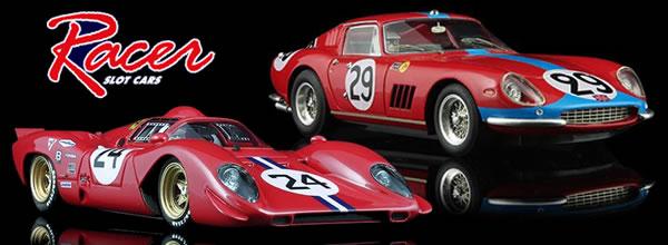 Racer: Deux nouvelles Ferrari annoncées pour le slot
