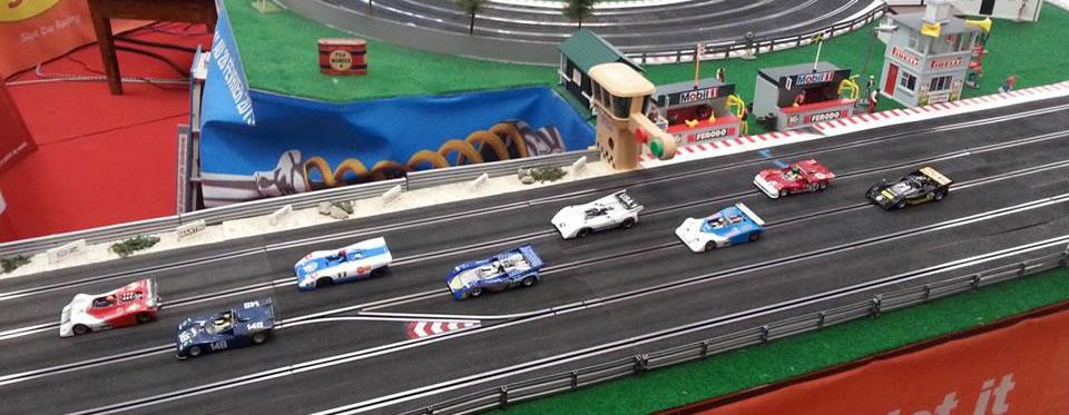 Les voitures de slot du championnat Can Am BSR21
