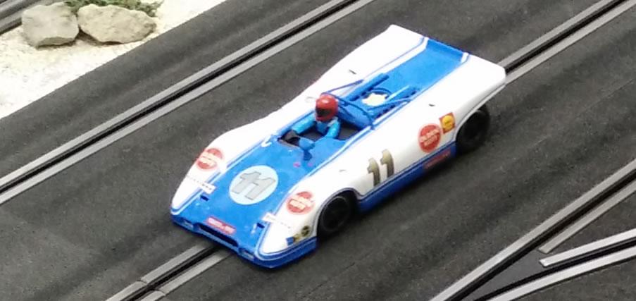 Porsche sur châssis HRS