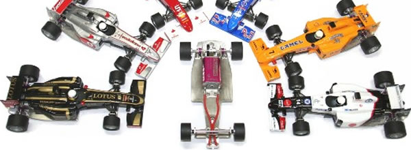 Sloting Plus Un chassis en acier pour les Formule 1 All Slot Car