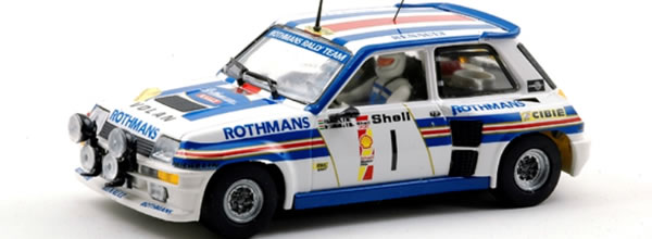 """Team Slot: la Renault 5 """"Rothmans"""" et un nouveau chassis"""