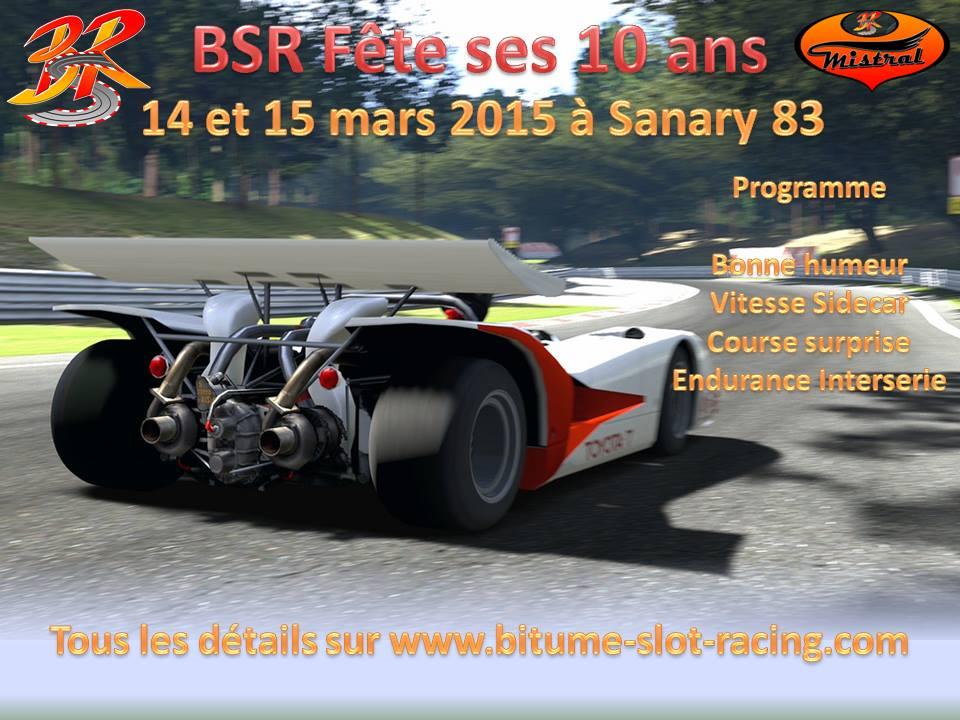 Bitume Slot Racing: Une grande fête de slot pour les 10 ans de BSR