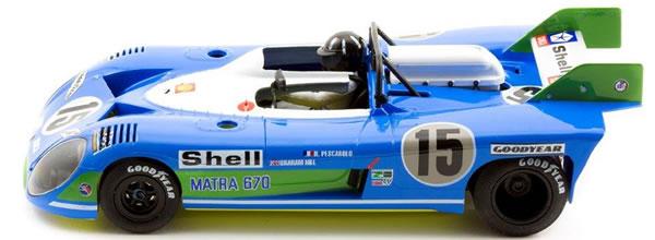 SRC: La Matra 670 Winner le Mans 72 (01401) arrive