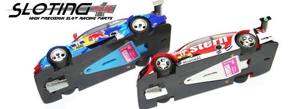 Sloting Plus: des Chassis impression 3D pour DTM Scalextric