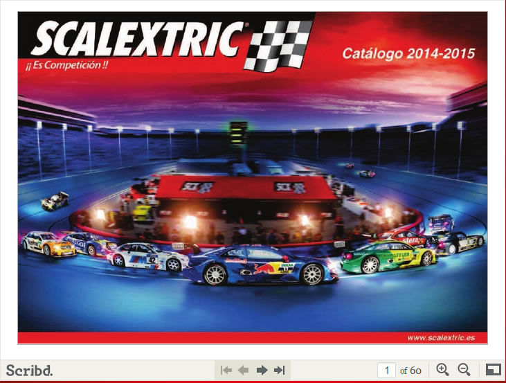 Catalogue Scalextrix 2014/2015
