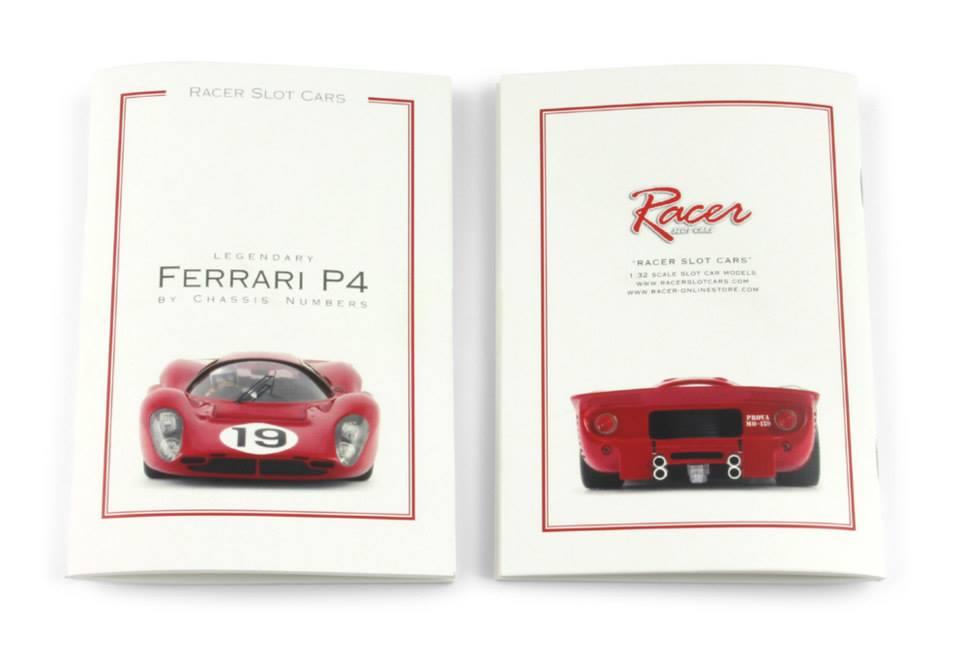 Racer Une lithographie et un livret Ferrari pour Noël