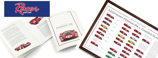 Racer: Une lithographie et un livret Ferrari pour Noël