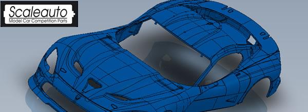 Scaleauto: Un Viper SRT GT3 à l'échelle 1/32 pour 2015