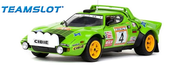 Team Slot: la Lancia Stratos HF Winner Spanish Rally Championship 1979 (11513)