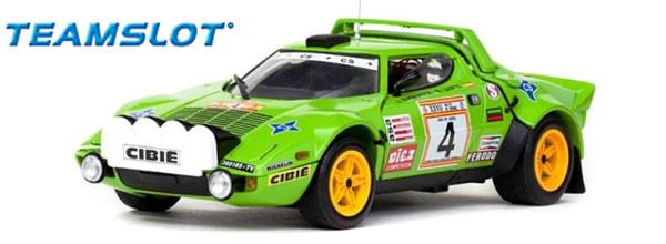Team Slot: la Lancia Stratos HF Winner Spanish Rally Championship 1979 (11513)