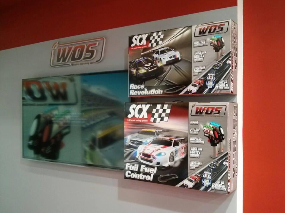 Les coffrets circuits routiers SCX WOS