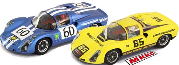 MRRC Deux Porsche 910 LM pour les circuits routiers