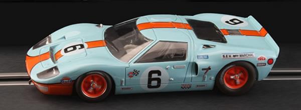 NSR : la Ford GT40 Gulf 1969 Le Mans Winner NSR1159SW