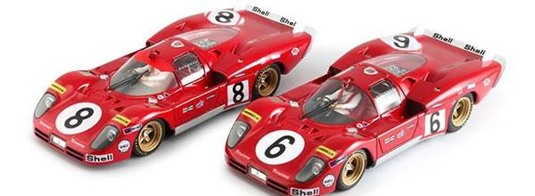 Racer: Deux Ferrari 512S le Mans 70 en Février