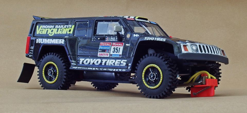 SlotArt Hummer H3 Dakar 2010