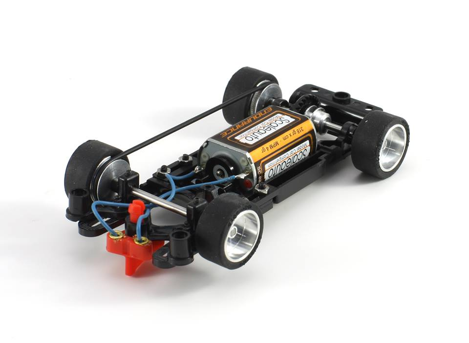 Scaleauto : Chassis Rallye Slot Montecarlo 1/32