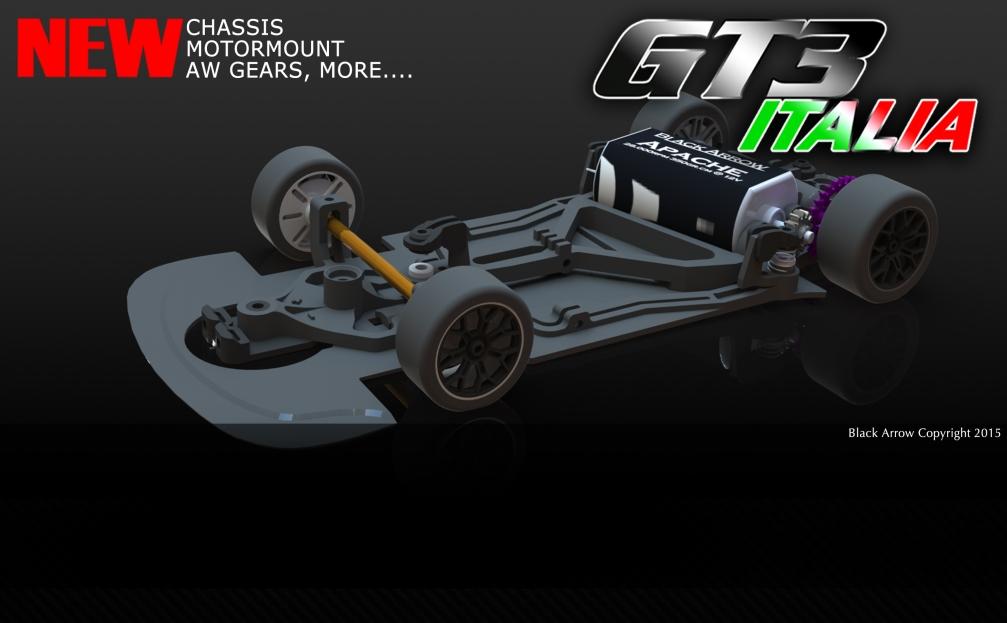 Black Arrow: annonce une GT3 Italia pour 2015