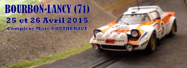 Bourbon Lancy: L'édition du Slot Rallye de Bourgogne Sud 2015