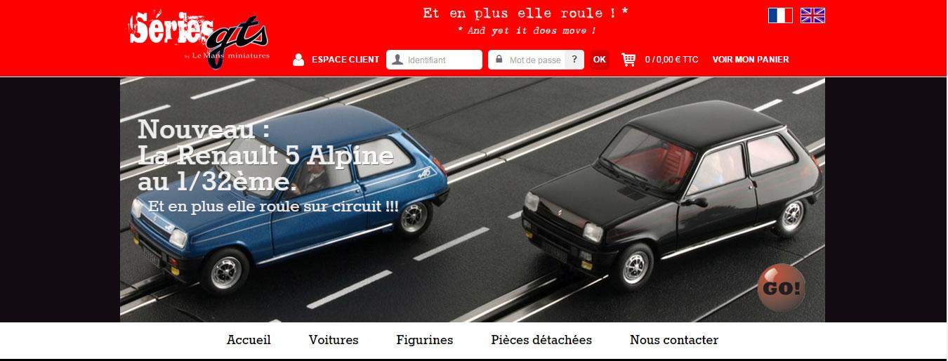Le Mans miniatures présente le site internet GTS Series