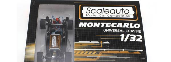 Scaleauto: Le châssis de Rallye Slot Montecarlo
