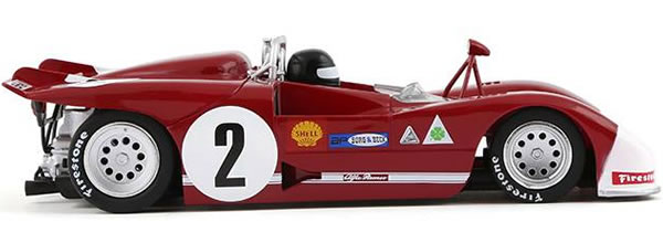 Slot it: l'Alfa Romeo 33/3 #2 2nd Targa Florio 1971 CA11g