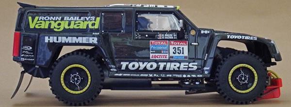 SlotArt: le Hummer H3 Dakar 2010 pour le slot