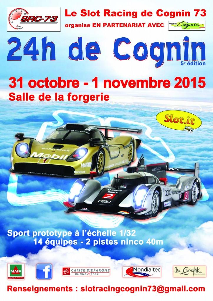24h de Cognin 2015