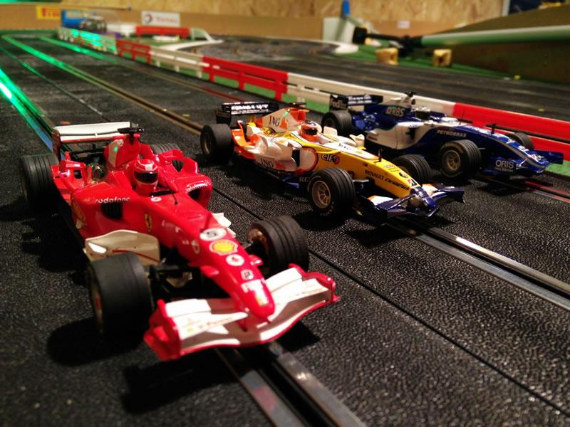 Les F1 Scalextric de Jean Marc