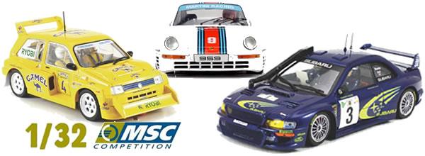 MSC Competition: les dernières voitures avant la fusion avec Scaleauto