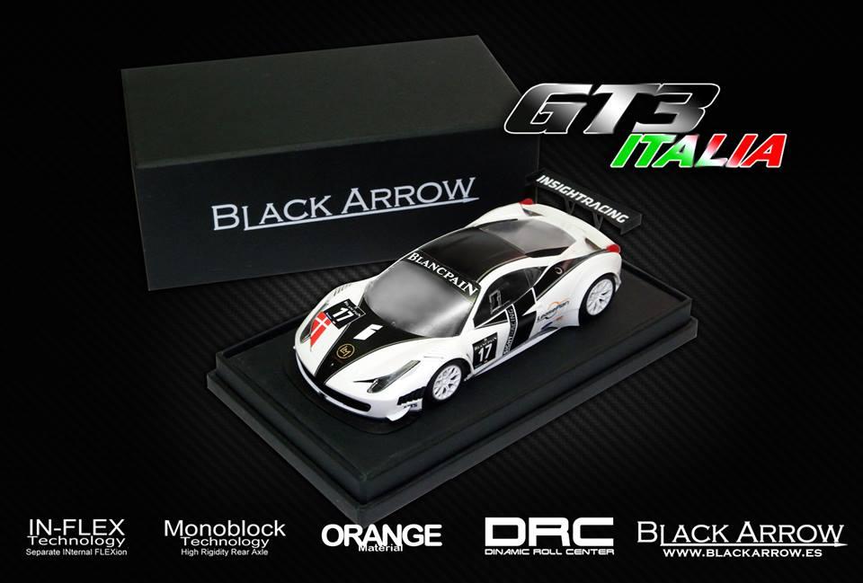 GT3 Italia Black Arrow pré production