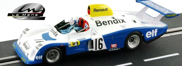 Le Mans Miniatures 2 Renault Alpine A442 Le Mans 1977