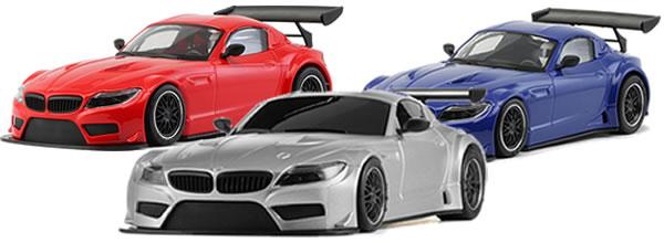 NSR: BMW Z4 GT3 trois couleurs pour la version Test Car