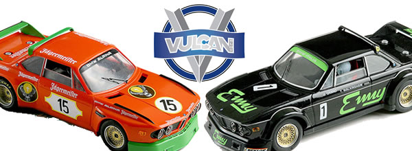 Vulcan Slot: 4 voitures pour le lancement de la marque