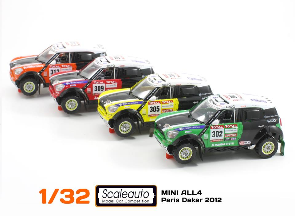 Scaleauto Mini X-Raid All4