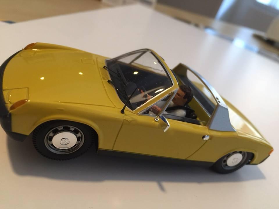 SRC Porsche 914 Jaune
