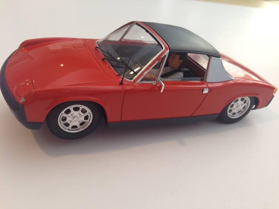 SRC Porsche 914  Rouge
