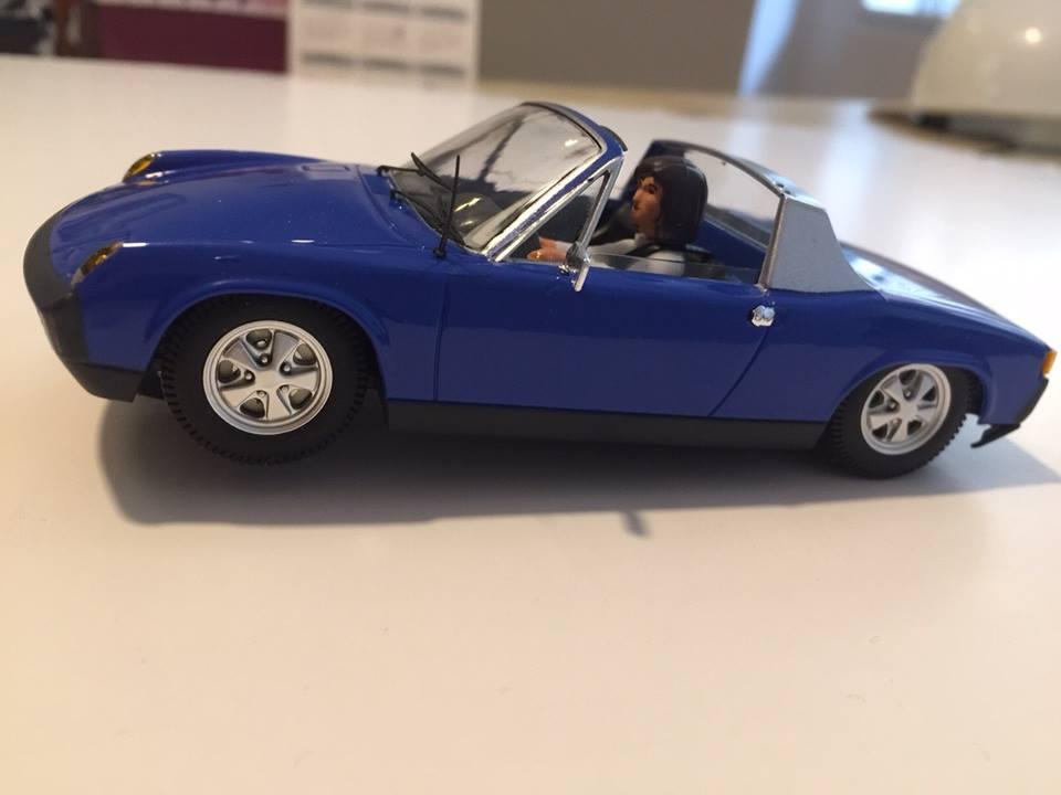 SRC Porsche 914 Bleue