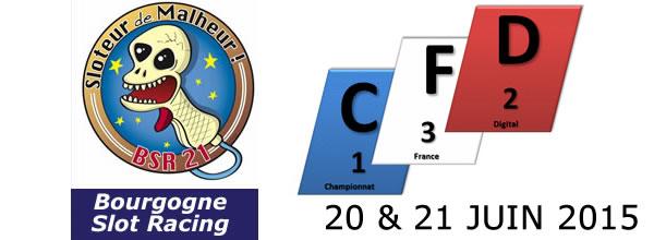 BSR21: Première étape du championnat de France digital 132 2015