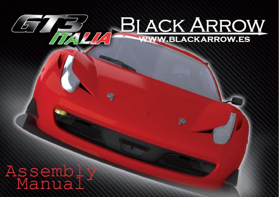 Manuel d'assemblage Italia GT3 Black Arrow