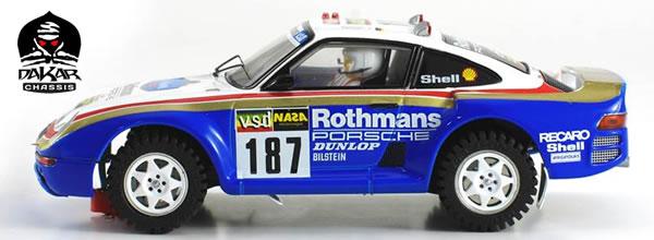 Scaleauto: Porsche 959 Dakar 1986