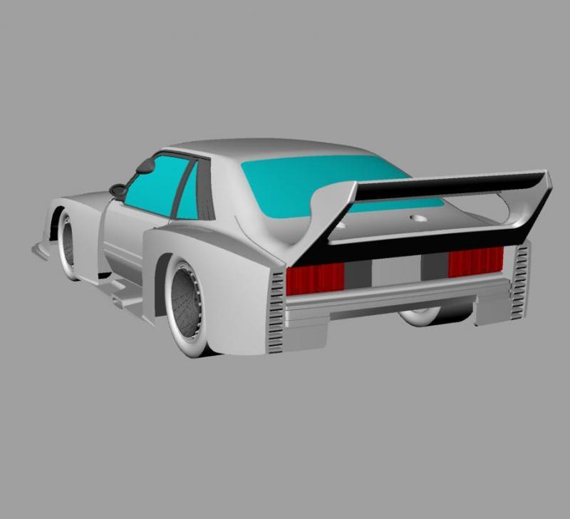 Ford Mustang Gr5 Sideways