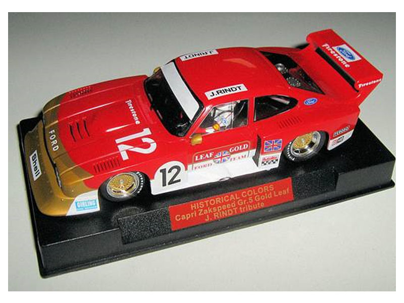 Ford Capri Zakspeed Group 5 Gold Leaf J.Rindt Edition