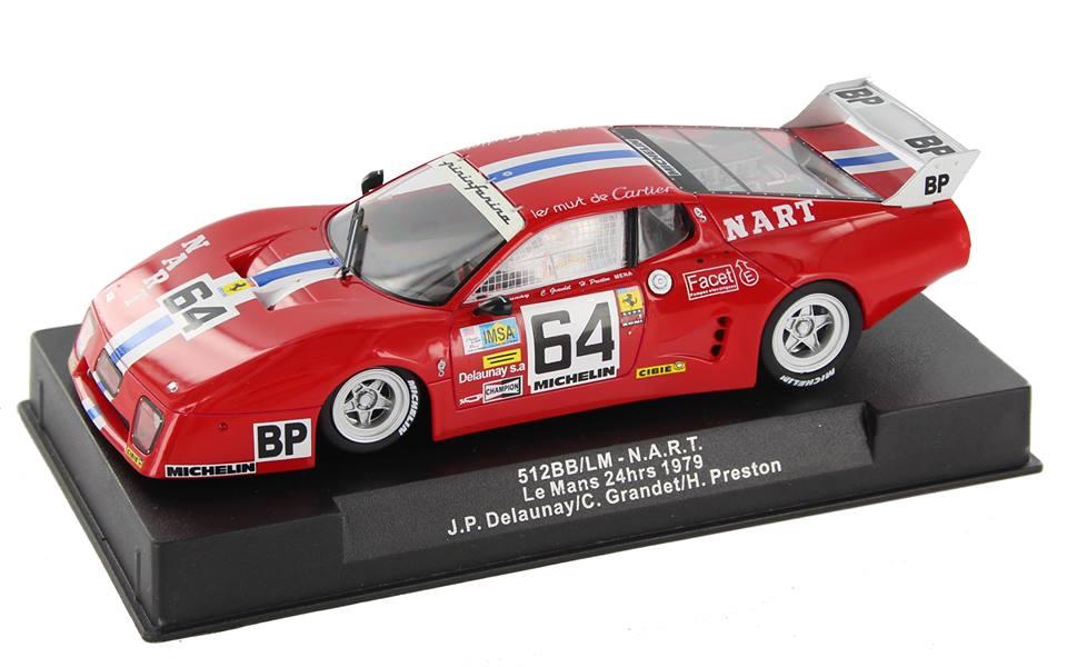 Sideways la Ferrari 512bb NART