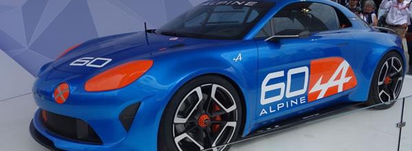 """Alpine: Le concept car """"Célébration"""" un avant-gout de la voiture de 2016"""