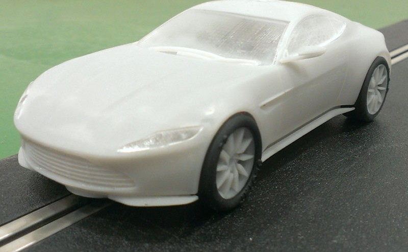 Scalextric: L'Aston DB10 de James Bond